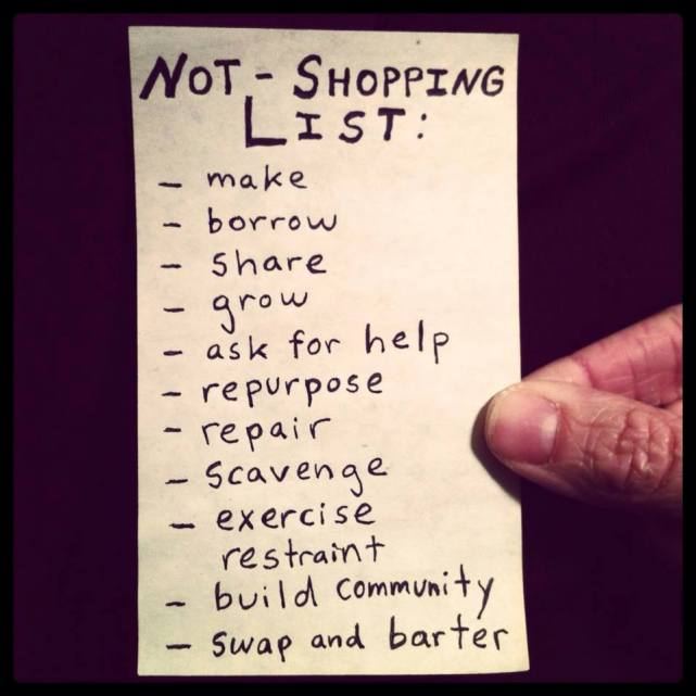 Well-Worn #3: Not Shopping List