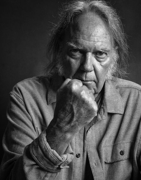 Neil Young at the Keller Auditorium